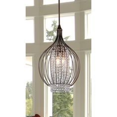 Warehouse of Tiffany Kate 3 Light Crystal Chandelier