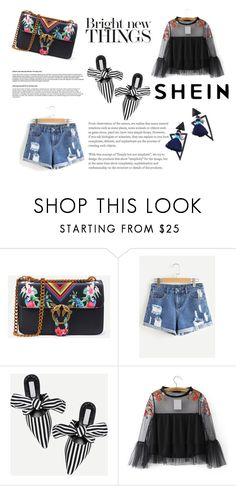 """""""Shein 4/10"""" by zerka-749 ❤ liked on Polyvore featuring WithChic"""