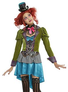 Mad Hatter Costume, MULTI