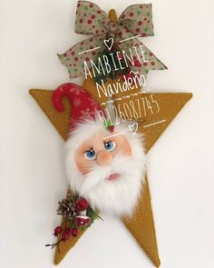 Christmas Decorations, Christmas Ornaments, Holiday Decor, Flower Crafts, Christmas Time, Santa, Halloween, Flowers, Cards
