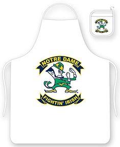 Notre Dame Fighting Irish Apron and Oven Mitt Set Sports ... https://www.amazon.com/dp/B004WL8IUW/ref=cm_sw_r_pi_dp_x_X9wrybQHA66FK