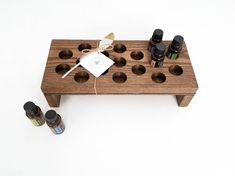 Essential Oil Shelf