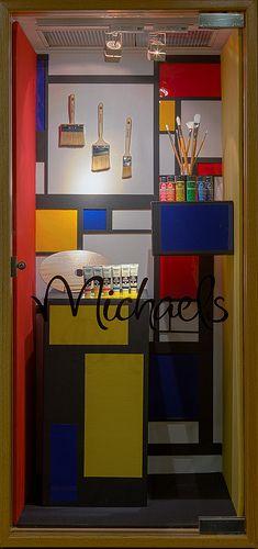 Foamcore window displays 2013. Visual Merchandising Arts Program. School of Fashion, Seneca College.