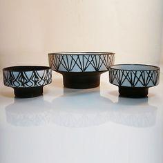 Studio Keramik Vase / Schalen • Böttger Keramik Werkstatt • 2 + 1 GRATIS