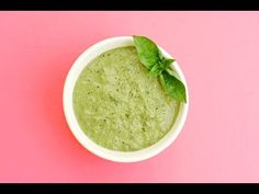 Healthy & Fresh Basil Pesto Recipe