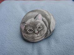 Rockpainting - Cat 0048