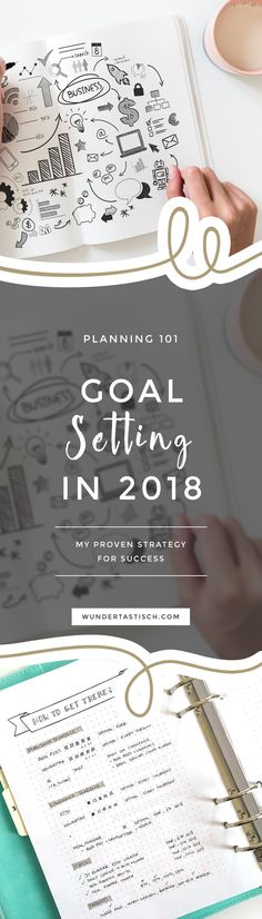 I truly believe in setting goals. But instead of only having the end goal in mind I set and focus on action-driven goals. This allowed me to build a business I love and publish my first book with a big German publishing company. Keep reading to learn my proven strategy for success in 2018!