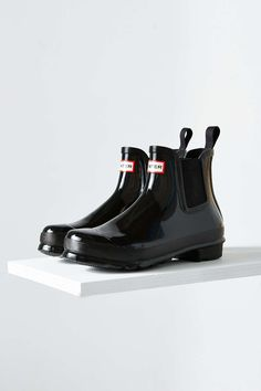Hunter Original Chelsea Glossy Rain Boot