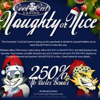 Christmas Challenge by Cool Cat Casino.