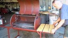 Como construir Parrilla chulengo asador Argentina de tambor