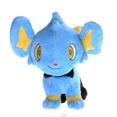 "Amazon.com: Pokemon Plush Shinx Kolink Figure Doll Stuffed Toy 6"": Toys & Games"