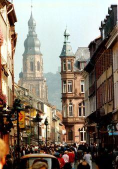 Heidelberg, Germany about 1987