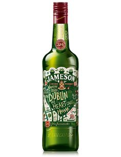 Jameson Limited Edition Bottle — The Dieline - Package Design Resource
