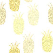 Tapet - Pineapple