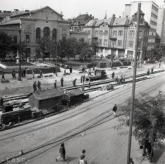 Rok 1951: Prestavba Stalinovho námestia v Bratislave Bratislava, Street View, Times