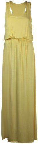 PurpleHanger Women's Toga Long Vest Maxi Dress Plus Size Yellow 20-22 -- You can find more details by visiting the image link. We are a participant in the Amazon Services LLC Associates Program, an affiliate advertising program designed to provide a means for us to earn fees by linking to Amazon.com and affiliated sites.