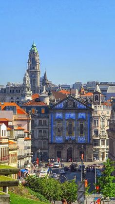 Porto, Portugal: A Travel Guide - Round the World in 30 Days Gaia, Grand Canyon Railway, Porto City, Douro, Cultural Architecture, Portugal Travel, Amazing Destinations, Aerial View, Beautiful World