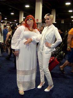 Luci and Amaterasu at Boston Comic Con.