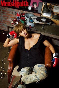Block B's Jaehyo | Men's Health December Issue '15