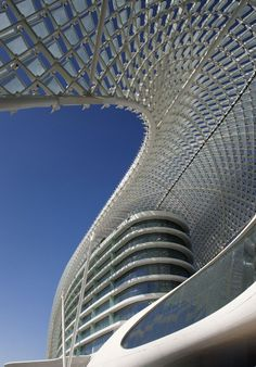 The Yas Hotel Interiors by Jestico   Whiles