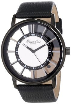 Men's Wrist Watches - Kenneth Cole New York Mens KC1752 Transparency Classic SeeThru Dial Round Case Watch >>> Want to know more, click on the image.