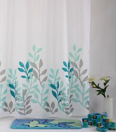shower curtains | 100% Polyester Water Proof Shower Curtain
