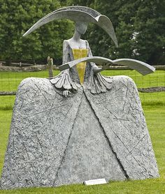 Chanting Cimarosa - by Philip Jackson, sculptor