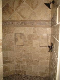 Master Bathroom Chiseled travertine shower http://aaprestigestone.com/gallery/g1u.6,84/Bathroom_Chiseled_travertine_shower.html