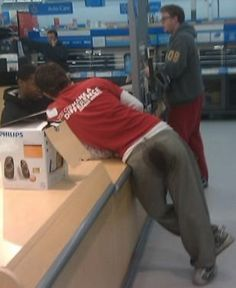 Stain Mart - People of Walmart Really with Poop in their Pants - Stink Butt - Fa - Funny Pictures at Walmart