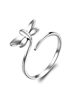 Dragon fly silver ring, want!!!!!!!!!!!!!!!