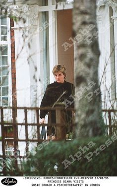 Diana visits her psychotherapist Susie Orbach in 1995