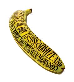 Sarah King - like the design/ on a banana!  could use Pineapple!