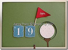 another golf card