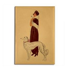 Deco Lady and Zoi Magnet. But it is really the size of a Silken Windhound :) Silken Windhound, Greyhounds, Random Things, Army, Dogs, Gifts, Painting, Gi Joe, Random Stuff