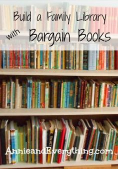 Use these tips for finding bargain books to keep eager readers happy!