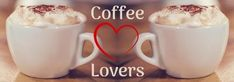 Edit this creative template for a Tumblr background. This can be easily edited in Design Wizard. A really cool background showing two images of coffee and wihte text displaying 'coffee lovers'.