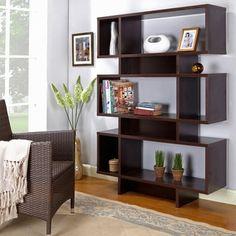 Modern Espresso Bookcase. Furniture OutletOnline ...