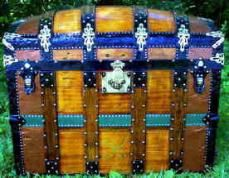 Antique Trunk History And Styles