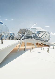 Nympha Cultural Center for future Bucharest [Futuristic Architecture: http://futuristicnews.com/category/future-architecture/]