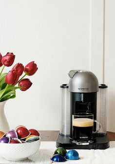 Brewing your own unique creations has never been easier than with the VertuoLine from Nespresso. At the touch of a button, you will be on your way to savoring bold flavors in no time.