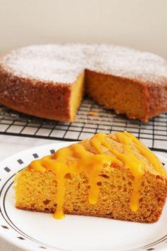 Eggless Mango Cake Recipe | Spongy, moist eggless cake recipe