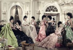 Steven Meisel Pays Homage to Cecil Beaton    Fashionista