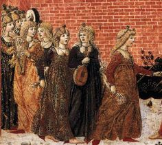 1470 The Meeting of Jephthah and his Daughter BENVENUTO DI GIOVANNI