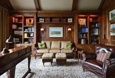CC - traditional - home office - charlotte - Carolina Design Associates, LLC