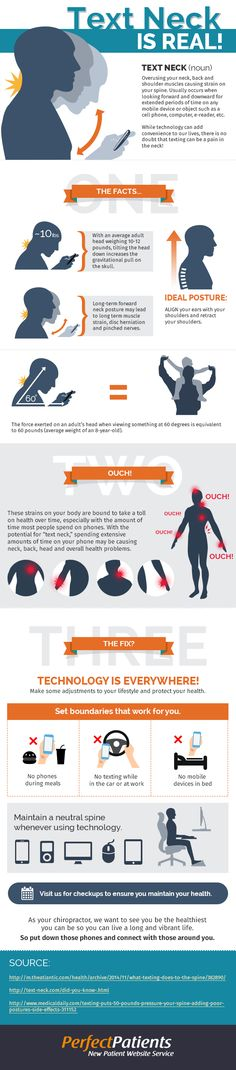 Text neck might seem like a funny 21st Century ailment, but it is no joke. #Chiropractic #textNeck