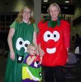 veggie tales costumes!