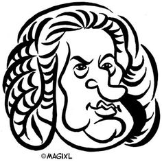 caricature clipart classic music and opera | HUMOR | Pinterest ...