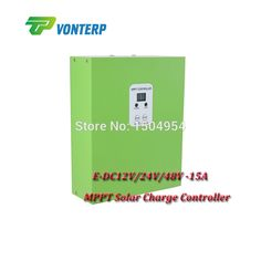 64.49$  Buy now - http://alid6y.worldwells.pw/go.php?t=32343151432 - E-DC12V/24V/48V-15A  mppt solar charge controller/ Solar Panel Regulator Auto Work,Hot Sale