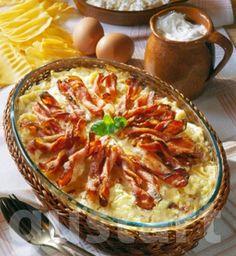 Lajos Mari konyhája - Tepsis túrós csusza
