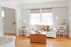 The Painted Home: {Home Tour - Cozy.Cottage.Cute.}